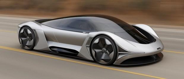 McLaren rasskazal o budushhem elektrokare