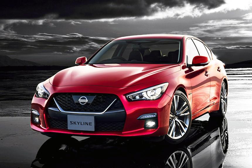 Nissan Skyline poluchil obnovlenie