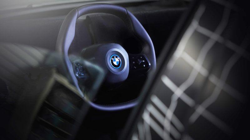 Novyj elektrokar ot BMW udivit vseh svoim intererom