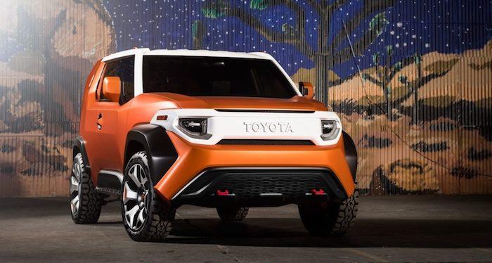 Toyota FT 4X Concept