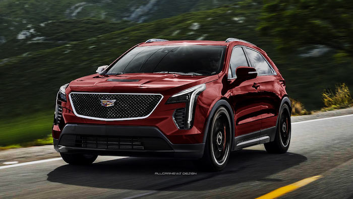 cadillac xt4 v sport imagined as bmw x2 m35i competitor 128832 1
