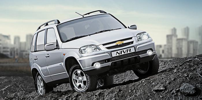 Внедорожник Chevrolet Niva пережил процедуру модернизации