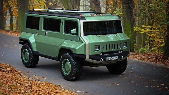 H-UAZ (Hummer и UAZ)