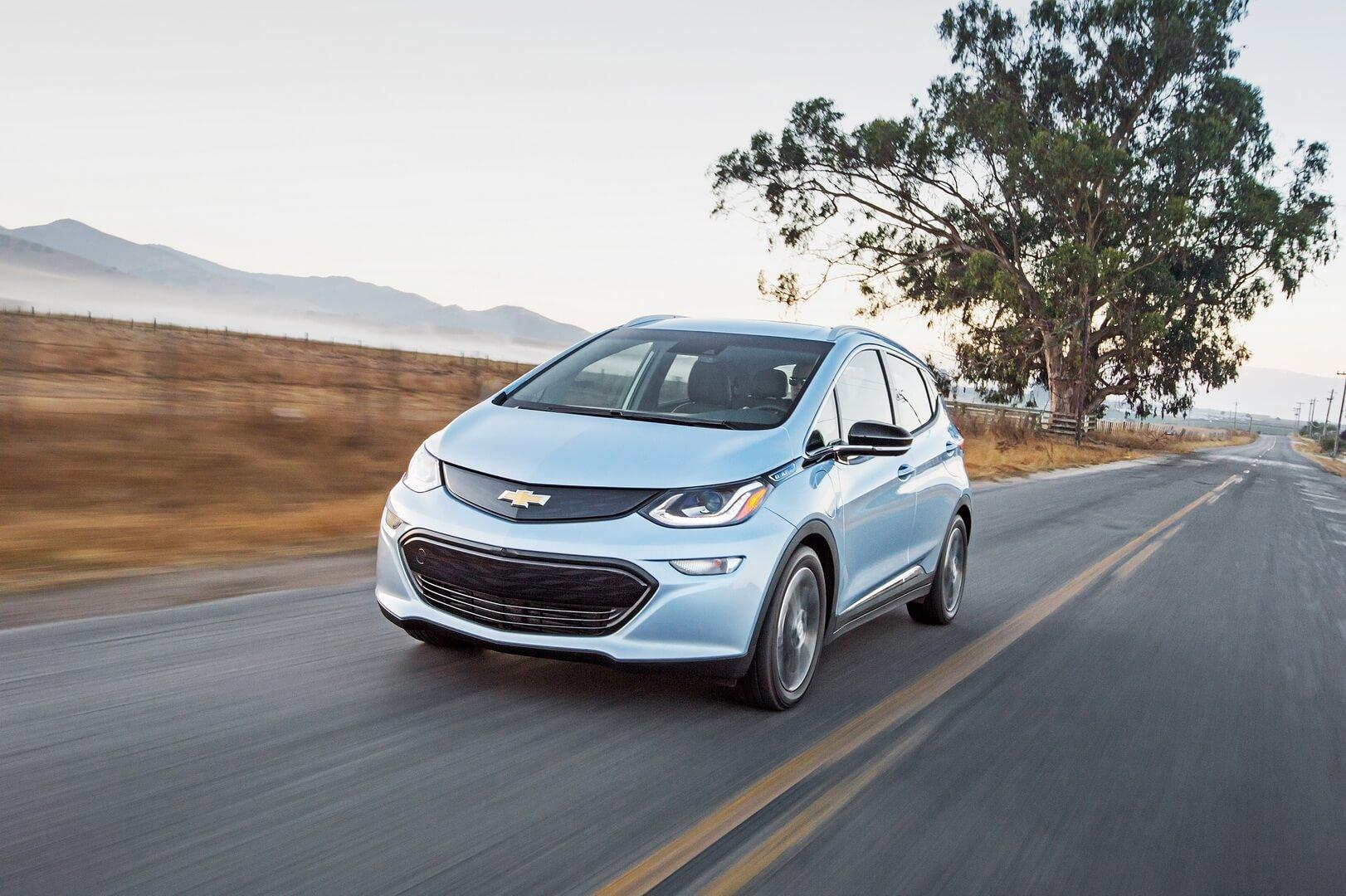 Chevrolet Bolt EV poluchil obnovlyonnuyu batareyu