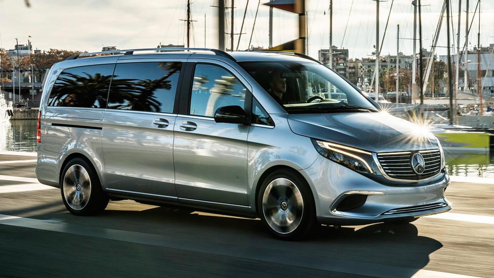 Elektrokar Mercedes Benz EQV budet predstavlen uzhe v sentyabre 1