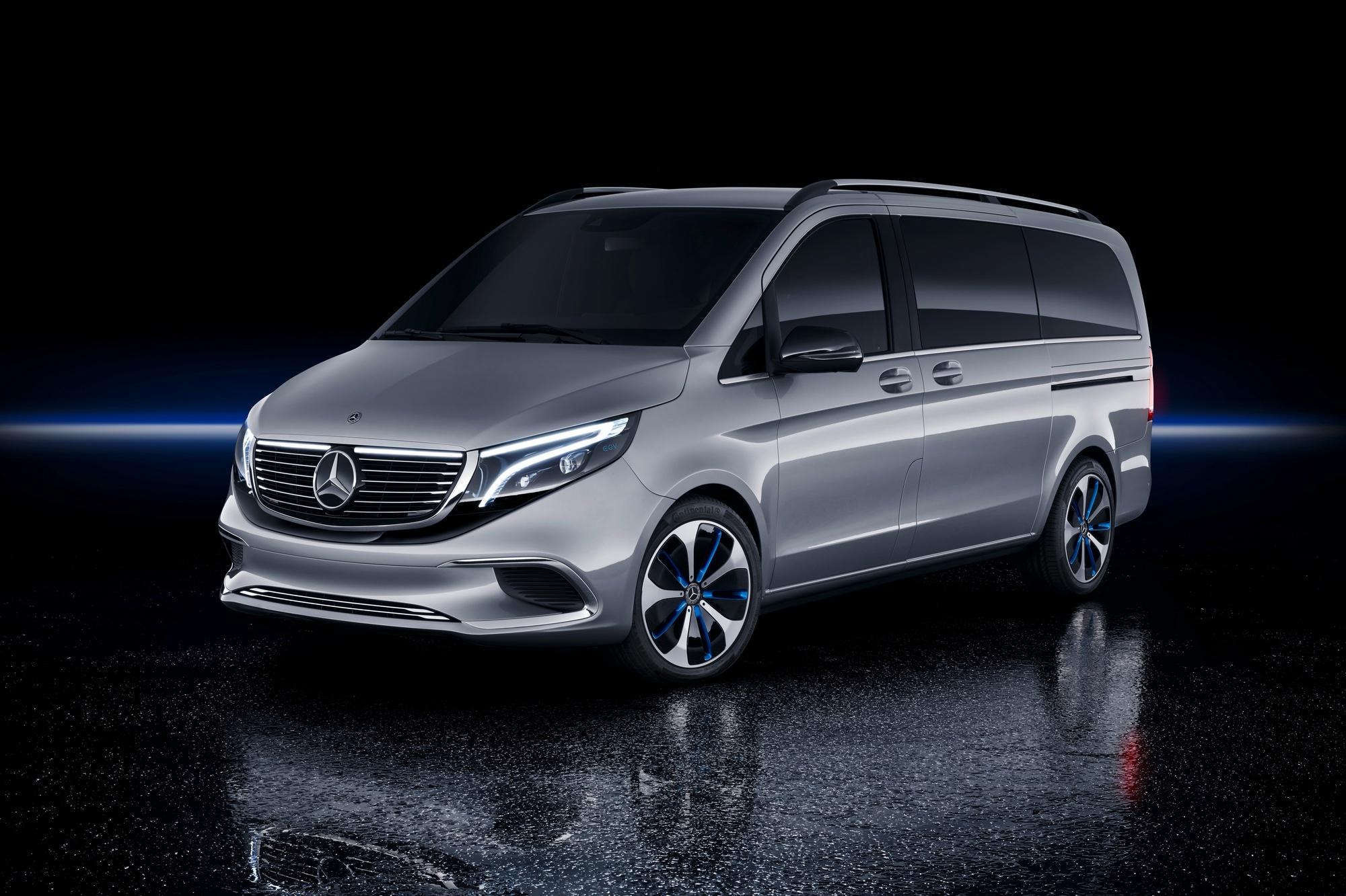 Elektrokar Mercedes Benz EQV budet predstavlen uzhe v sentyabre