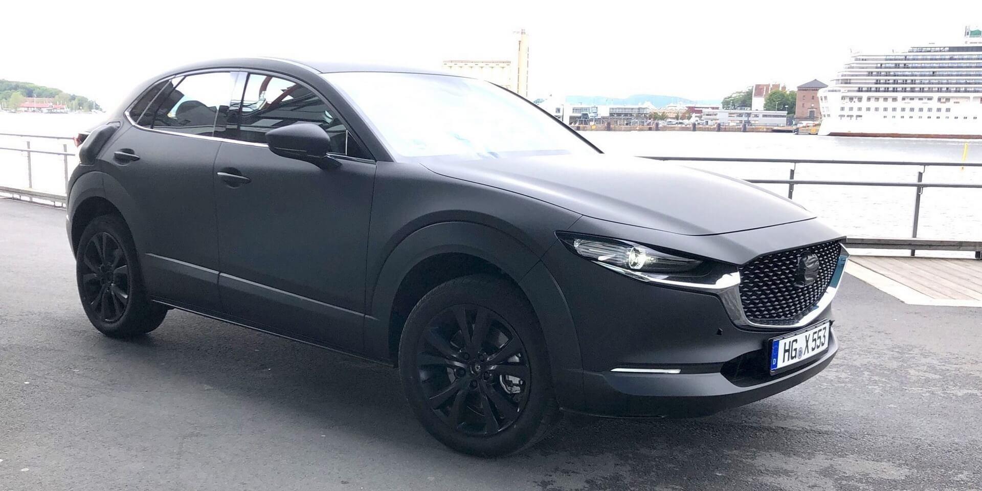 Elektrokar ot Mazda byl zamechen na testah