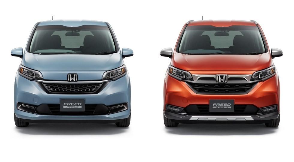 Kompaktven Honda Freed poluchil restajling 1