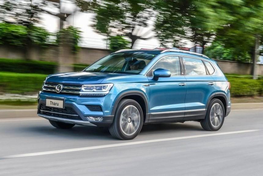 Volkswagen provodit testy novogo krossovera 1