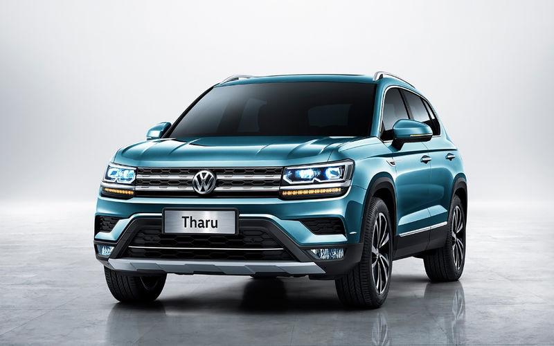 Volkswagen provodit testy novogo krossovera