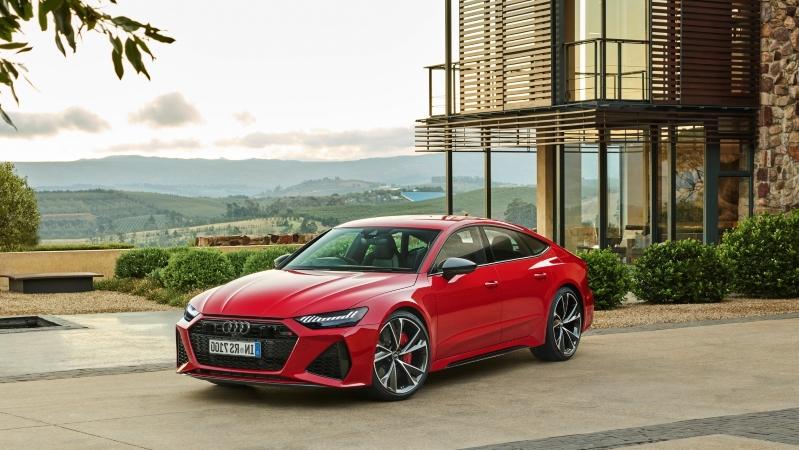 Audi RS7 Sportback stal moshhnee 1