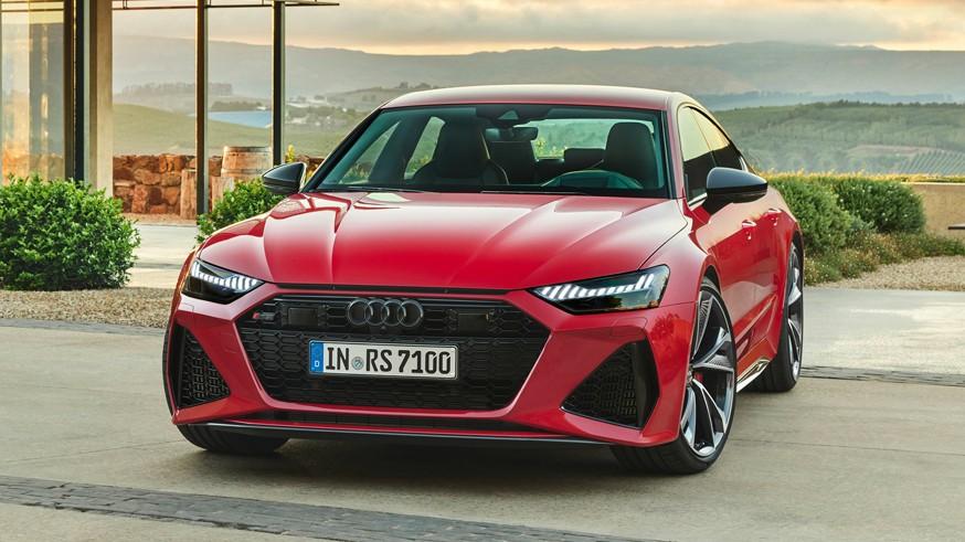 Audi RS7 Sportback stal moshhnee