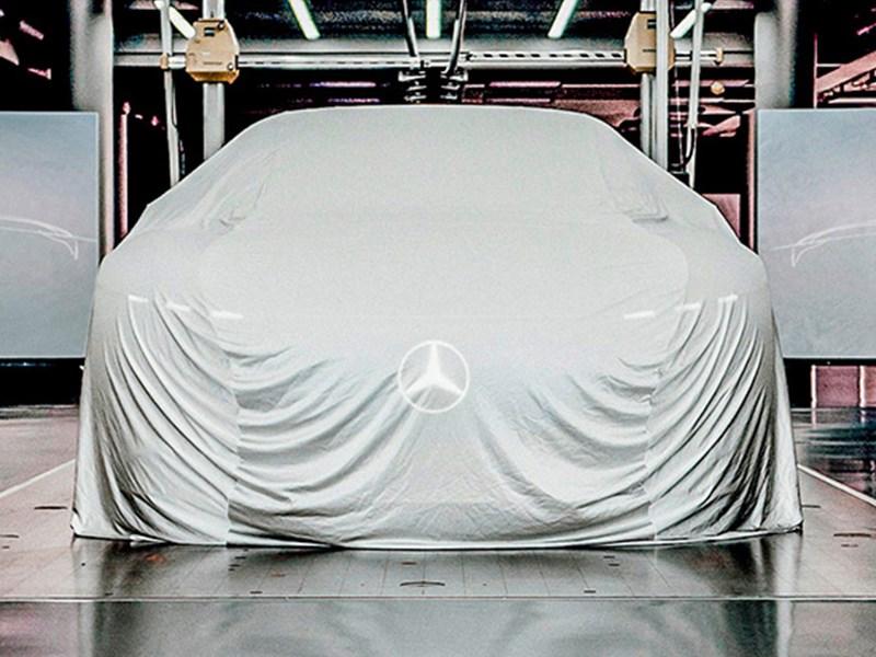Mercedes gotovit dlya publiki kakoj to syurpriz