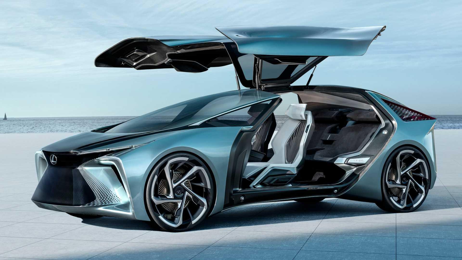 Lexus prodemonstriroval konczept so steklyannoj kryshej