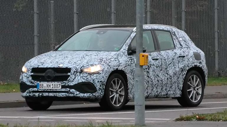 Mercedes Benz GLA pokazal svoi osobennosti