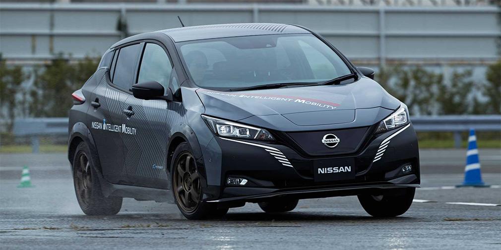 Nissan Leaf stanet polnoprivodnym