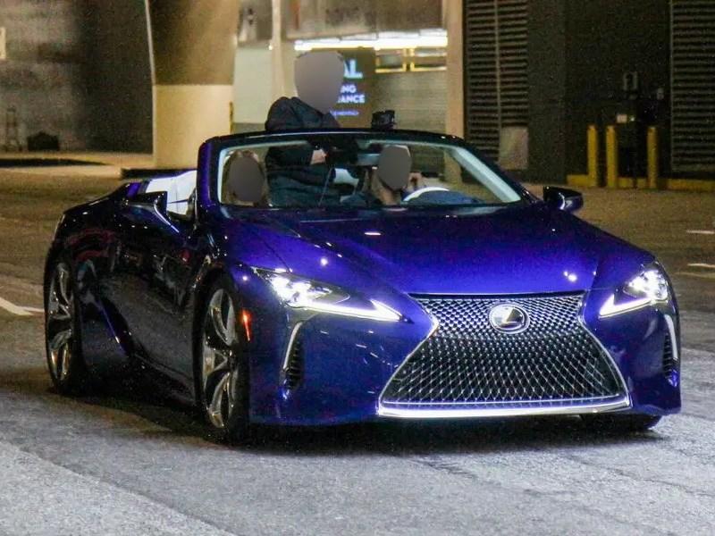 Rassekrecheny osobennosti novogo Lexus LC