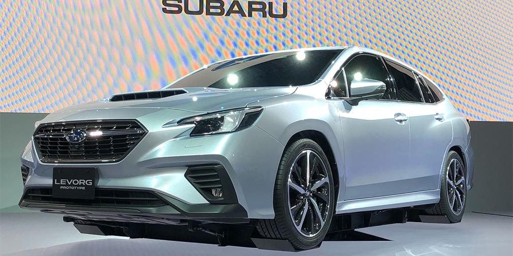 Subaru pohvastalas prototipom novogo universala1