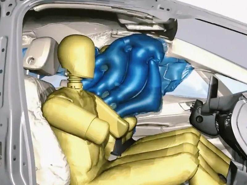 Volkswagen stanet pervym kto vnedryaet innovaczionnye podushki bezopasnosti