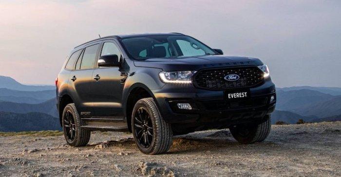 2020 Ford Everest Sport Australia spec 8