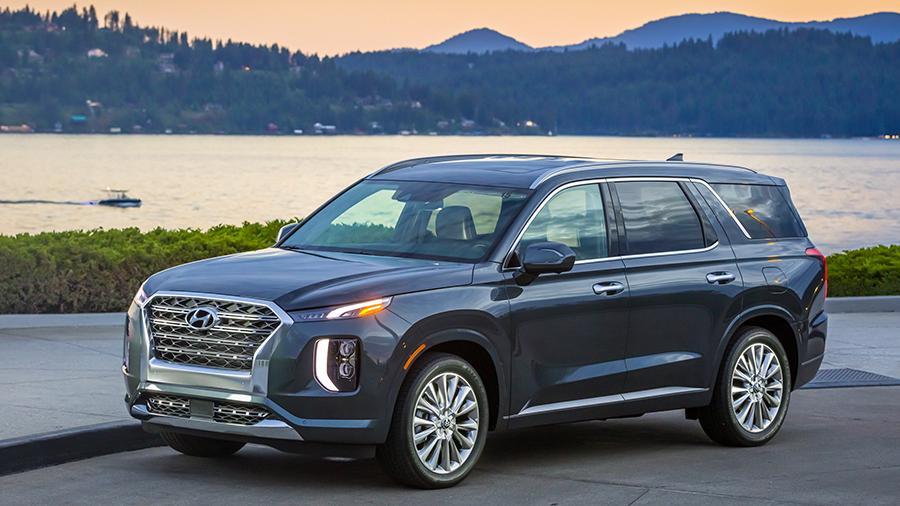 Hyundai zapatentovala v Rossii krossover Palisade