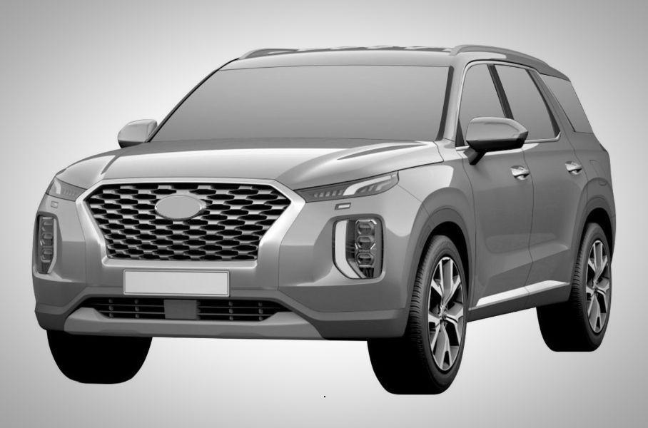 Hyundai zapatentovala v Rossii krossover Palisade1