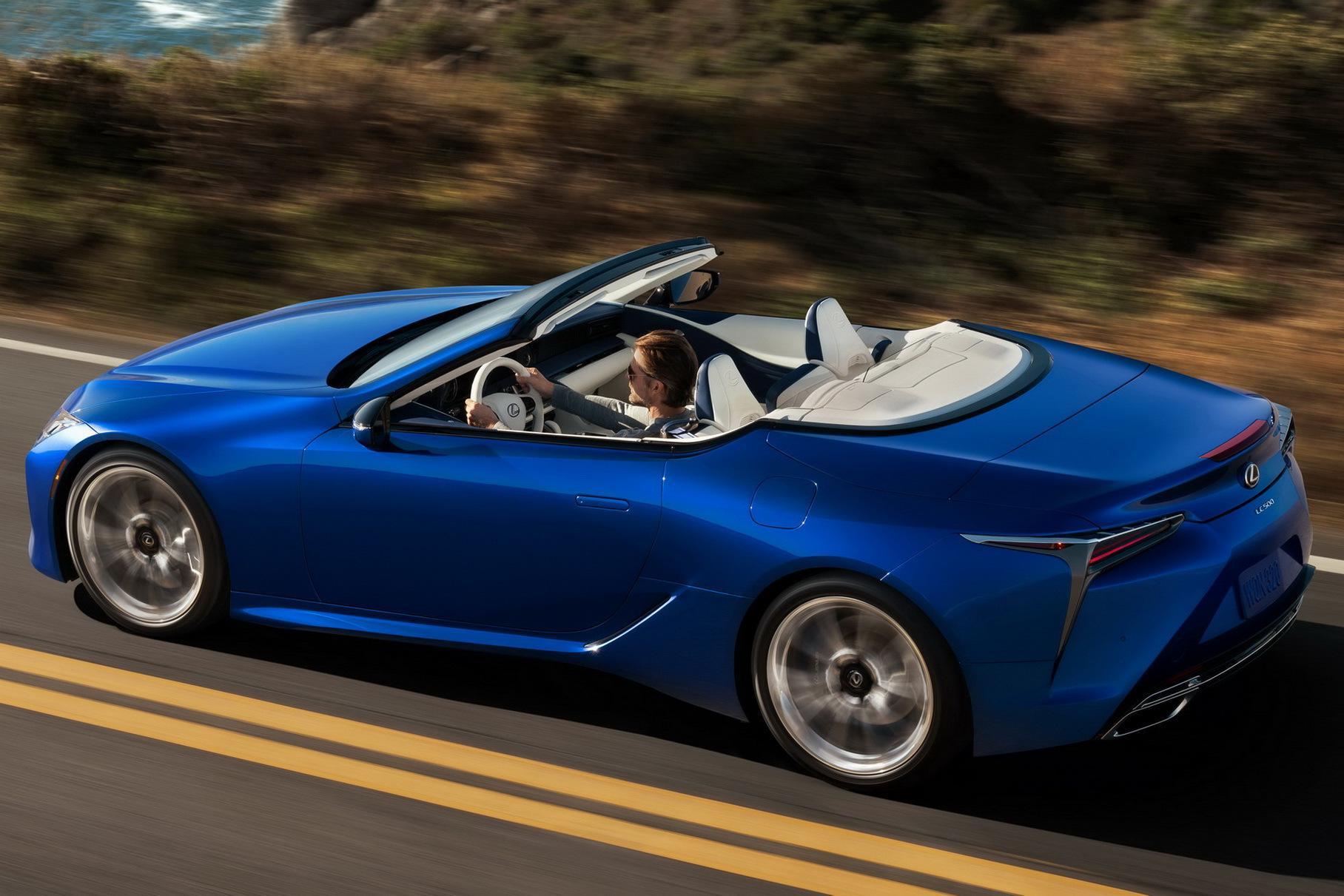 Lexus LC 500 nakonecz to stal serijnym 1