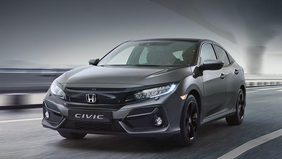 У Honda Civic больше нет виртуальных кнопок