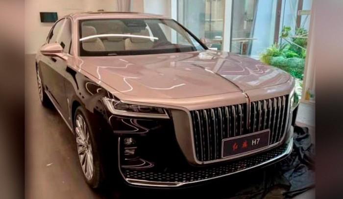 Hongqi H7: роскошный «китаец» в стиле Rolls-Royce сменит поколение
