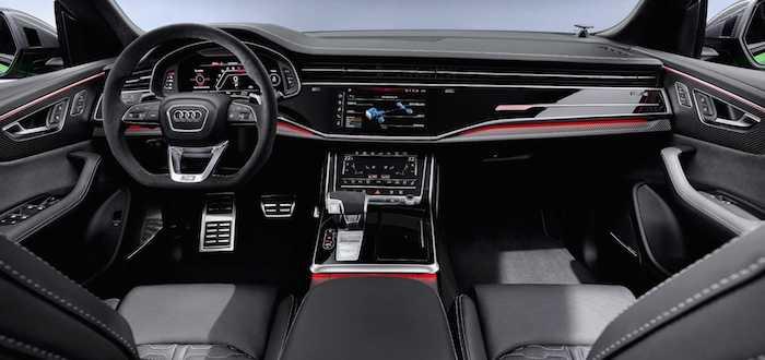 Названа дата выхода в продажу в России нового Audi RS Q8