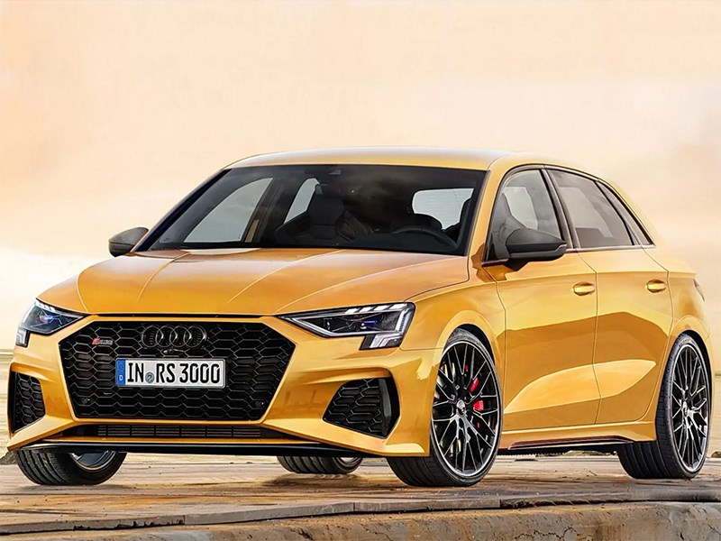 Audi RS3 mozhet stat gibridom