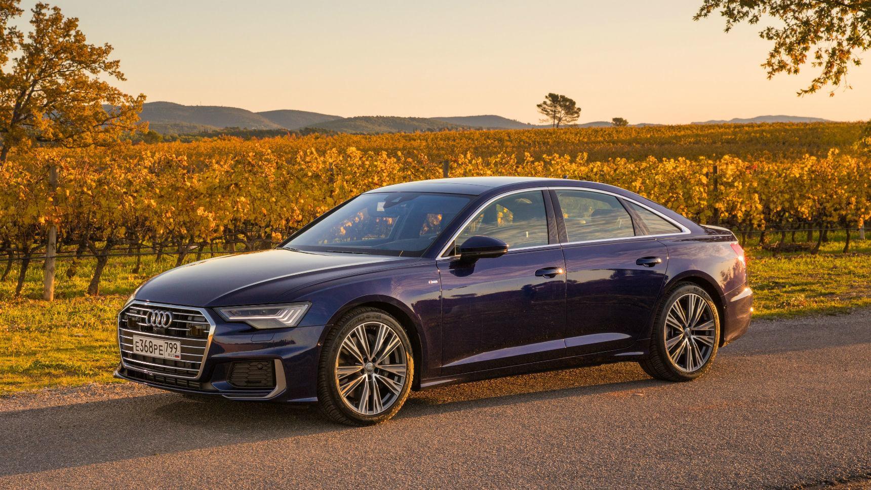 Audi predstavila dve novye versii A6 v Rossii