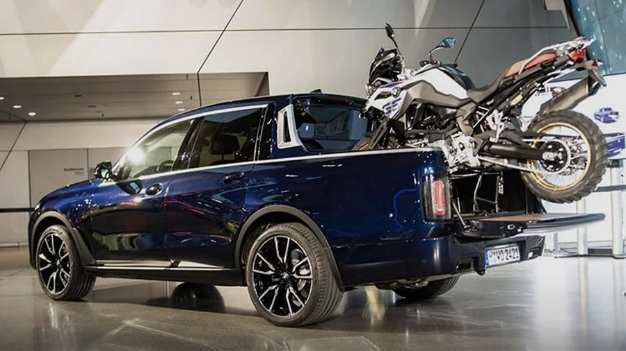 BMW X7 pokazali v Myunhene 1