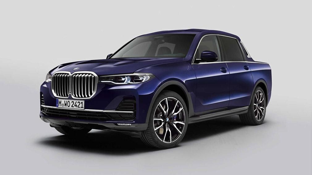 BMW X7 pokazali v Myunhene