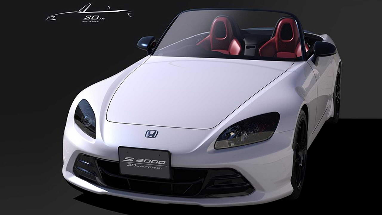 Honda provedyot restajling S2000