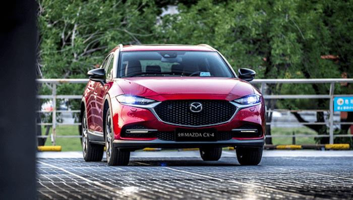 Обновленное кросс-купе CX-4 от Mazda сходу стало бестселлером