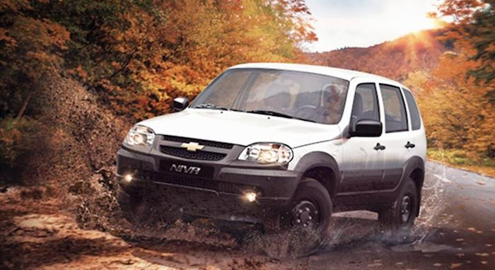 В России подорожал внедорожник Chevrolet Niva