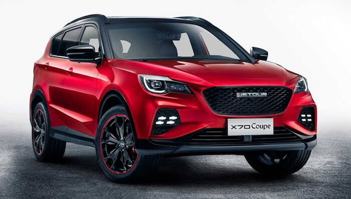 Jetour X70 Coupe