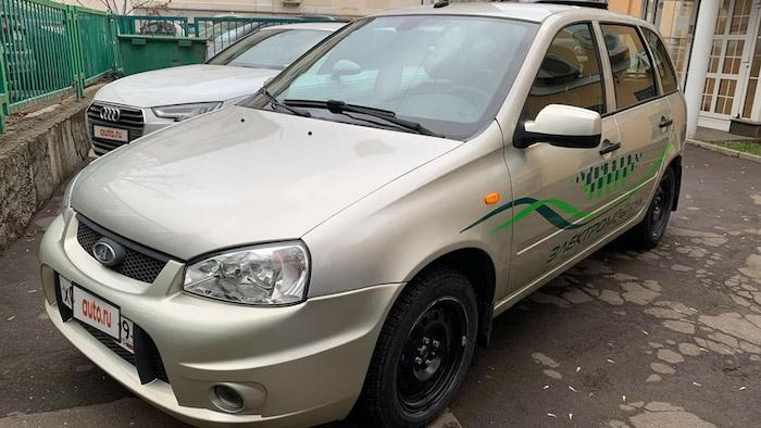1-ый серийный электромобильEI Лада выставлен на реализацию за $14 500