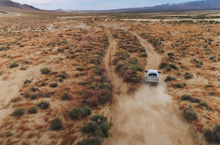 Продемонстрированы способности Ford Bronco на бездорожье