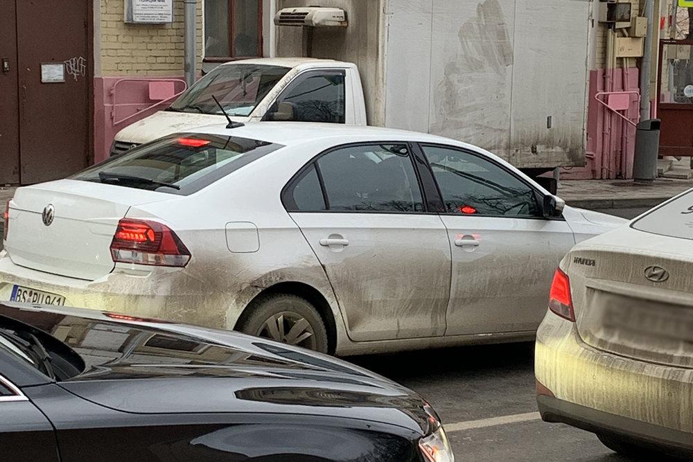 В Москве Volkswagen Polo попался фотошпионам