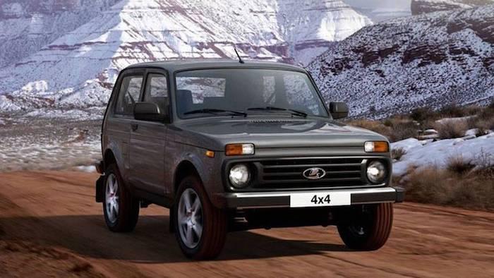 В России стартовали продажи обновленной Lada 4x4