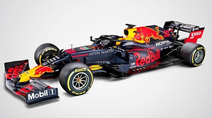 Red Bull и Renault показали новые болиды Формулы 1