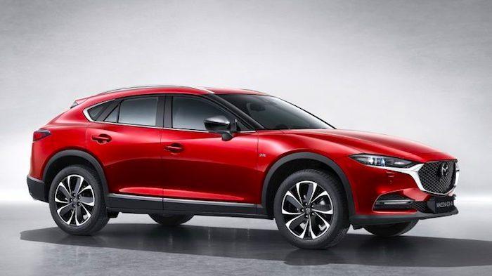 Обновленная Mazda CX-4 ставит рекорды продаж в Китае