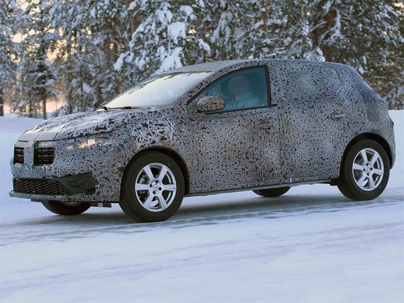 Renault Sandero вышел на испытания