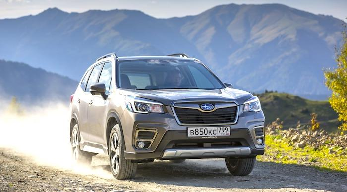 subaru forester 2019 test action 3