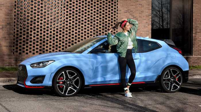 2020 hyundai veloster n with 8 speed wet n dct