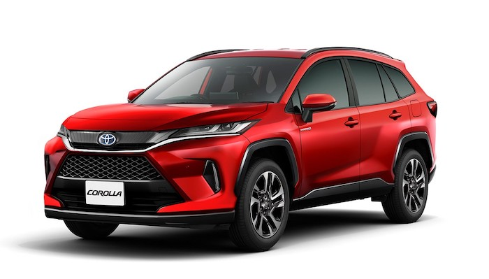 2022 toyota corolla cross sport utility vehicle rendered coming next year 1