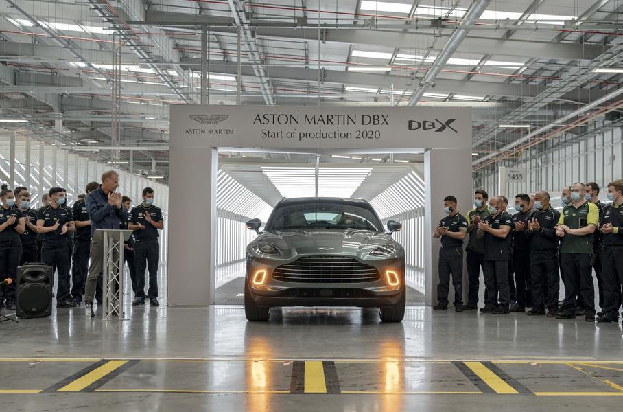 Aston Martin выпустил первый кроссовер DBX- журнал За рулем