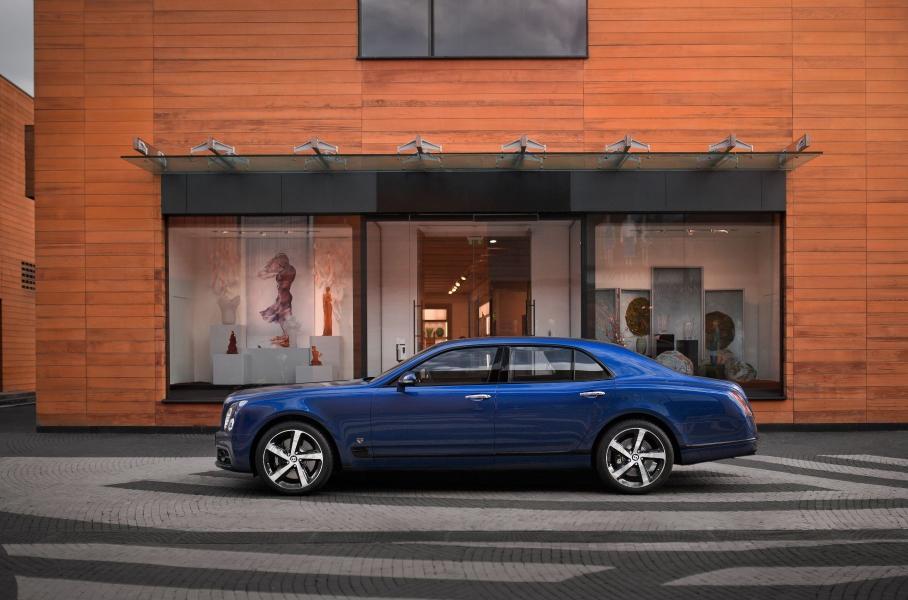 В России появился один уникальный Bentley Mulsanne - Авто Mail.ru
